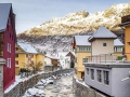 Surrounding the hotel is the beautiful town of Andermatt