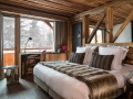 Le Chalet Mounier bedroom