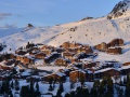 Sunrise over Belle Plagne