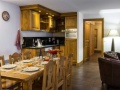 Kitchen and Dining Area, Residence Vallorcine, Chamonix