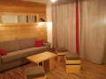 Living Area, Les Chalets d'Emeraude in Les Saises