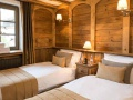 Chalet Mathilda Twin Bedroom