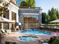 Outdoor pool, Westin Resort and Spa Suites, Whistler