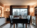 Dining area, La Sivoliere Duplex Apartments, Courchevel