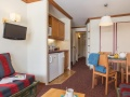 Living and Kitchen Area, Le Mont Soleil, Plagne Soleil