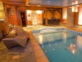 Le Chalet Mounier indoor pool