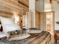 Bedroom, La Sivoliere Duplex Apartments, Courchevel