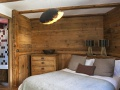 Chalet Lievre Blanc Double Bedroom