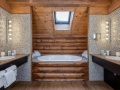 Bathroom, Hotel Lodge Park, Megeve