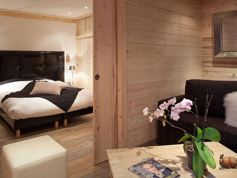 Hotel Les Melezes junior suite