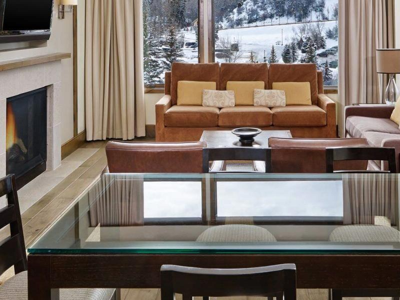 Living Area, Westin Riverfront Resort and Spa, Beaver Creek