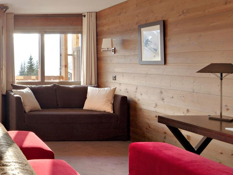 Junior Suite living area, Hotel Vanessa, Verbier