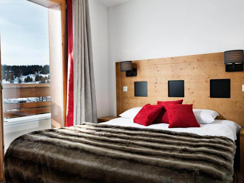 Bedroom, Les Chalets d'Emeraude in Les Saises