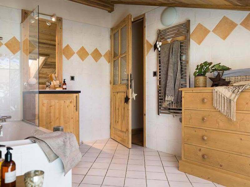 Bathroom, Le Village de Lessy, Grand Bornand