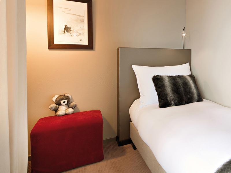 Senior Duplex Single bed, Hotel Vanessa, Vebrier