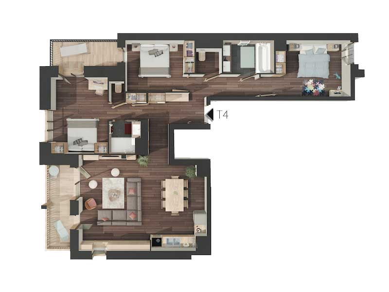 Snega Floorplan