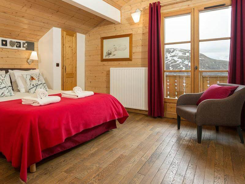 Bedroom, Les Chalets de l'Altiport, Alpe D'Huez