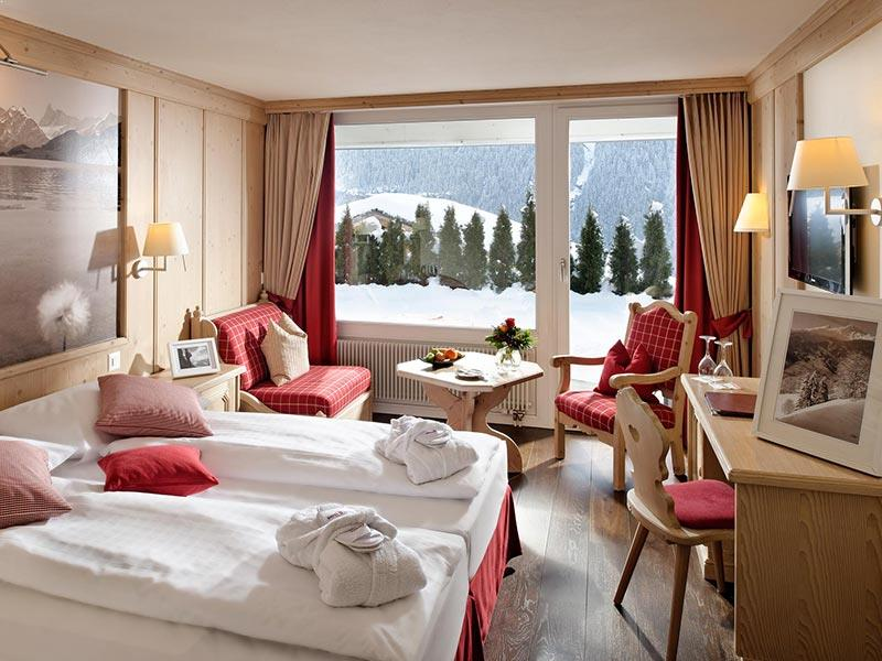 Twin room Eiger view
