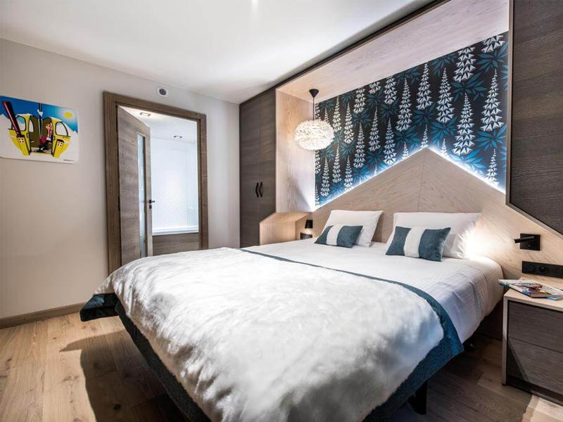 Bedroom, Montana Lodge, Val Thorens