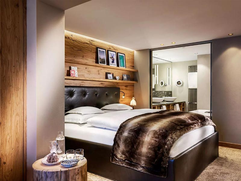 Hotel Arlberg Lech Deluxe Double Room with Balcony
