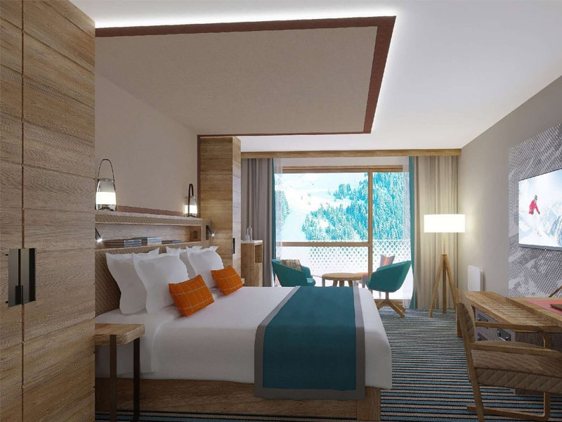 Interconnecting Junior Family Superior Rooms - Balcony, Club Med Alpes d'Huez La Sarenne