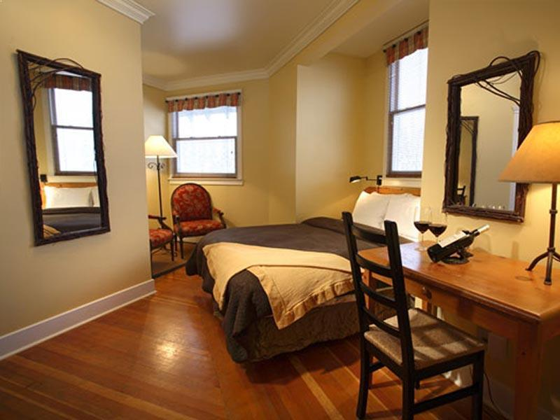 Tower room bedroom