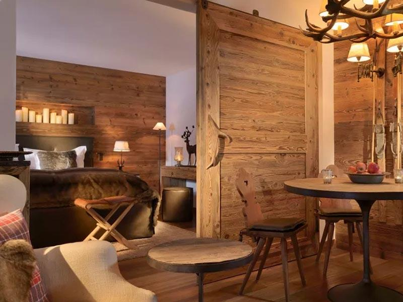 Hotel Arlberg Lech Jagdhof Suite with South Balcony