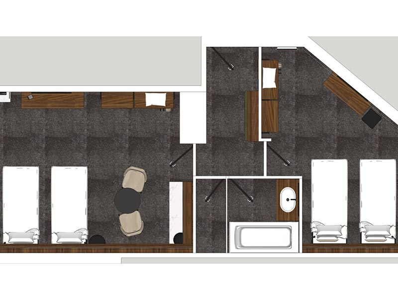 Family Slopes Room Floorplan