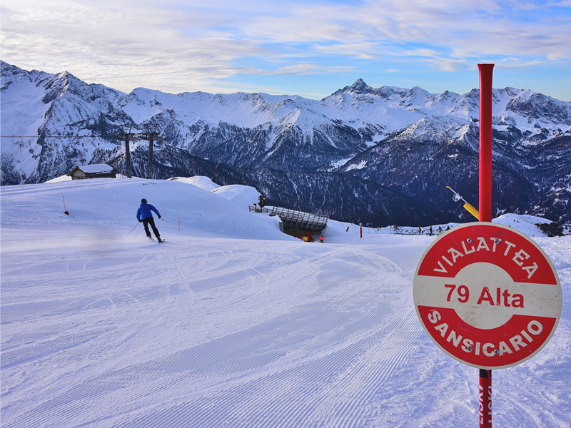 Intermediate skiing in Sauze d'Oulx