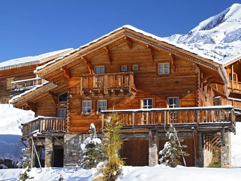 Chalets in Alpe d'Huez