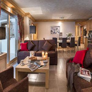 Apartments In Chatel - Powder White
